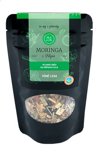 THE SMELL OF THE FOREST luxury tea with moringa, 50g