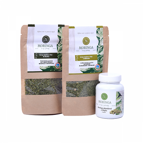 HORMONS moringa with angelica (30g), clary (30g) and capsules (90pcs)