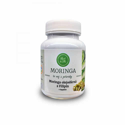 Moringa oleifera from the Philippines - VEG capsules (90pcs), monthly treatment