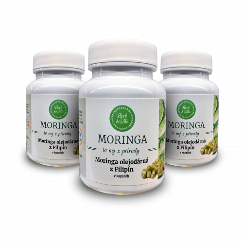 Cure for 3 months - 3x VEG moringa capsules from a family farm in the Philippines (270 pcs in total)