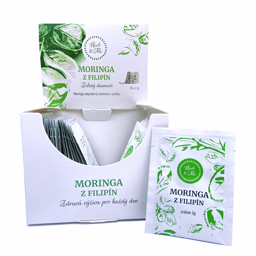 Moringa from the Philippines in powder, 30x 2g sachets - monthly treatment