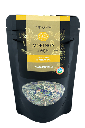 GOLDEN MORINGA - luxury tea with moringa, 50g