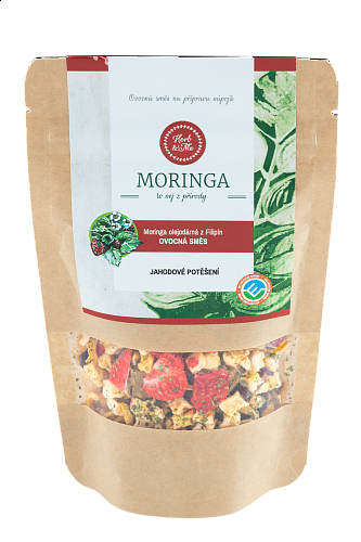 SIMPLY YUMMY - Strawberry delight with moringa, 50g