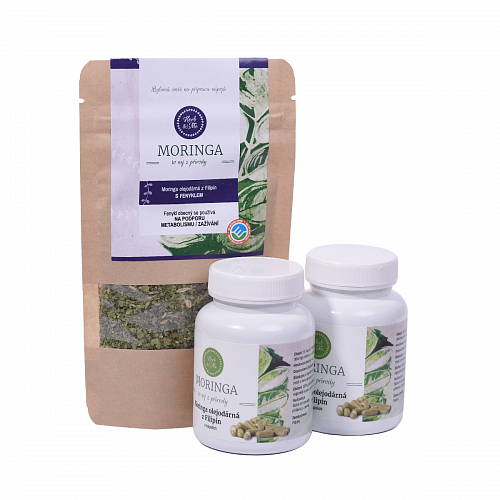 Moringa for nursing mothers 1x30g, 2x capsules