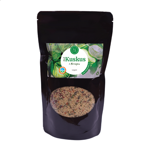 Couscous with moringa, 300g = 6 servings