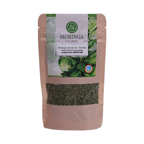 Young dried leaves (moringa FLAKES), 30g