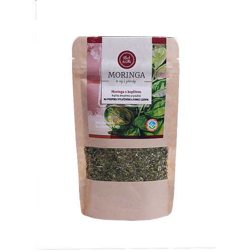 BLOOD CLEANING - Moringa oleifera with nettle 30g