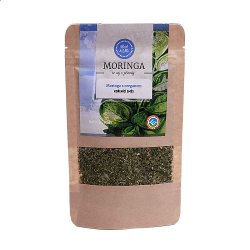 Moringa oleifera with oregano, 30g