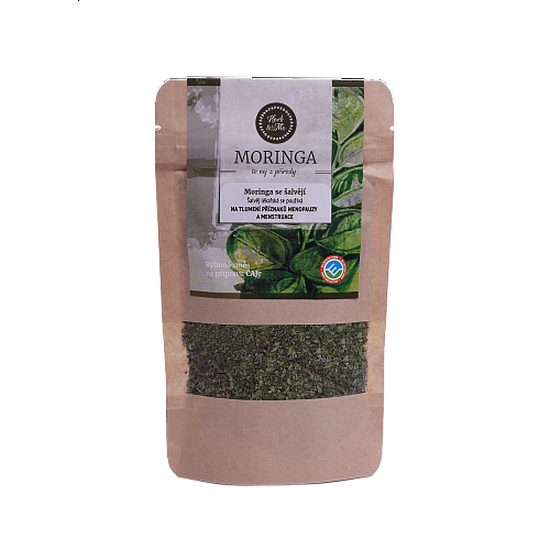 HORMONES and SPICES - Moringa oleifera with clary (Salvia officinalis) 30g