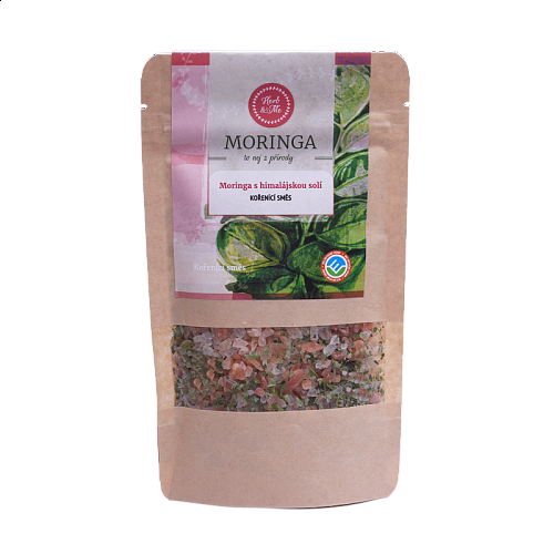 Moringa oleifera with Himalayan salt - coarse 100g
