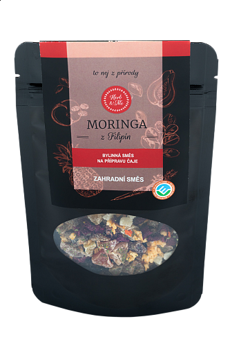 GARDEN MIXTURE - luxury tea with moringa, 50g